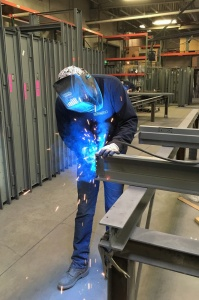 Hollow Metal Frame Welding