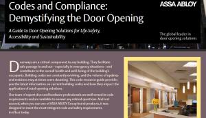 Door Codes and Compliance