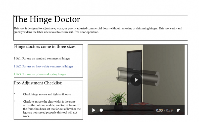 Hinge Doctor