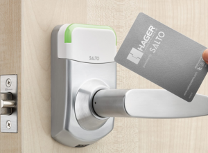 electronic access control Hager