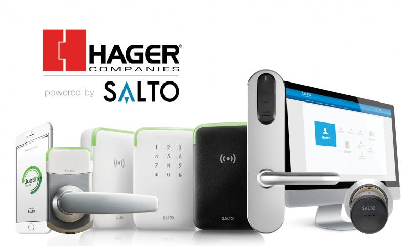Hager powered by SALTO access control