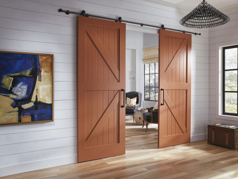 French Barn Sliding Doors Commercial