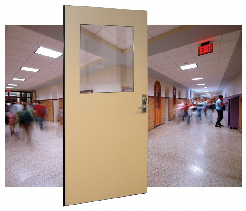 Attack Resistant Doors for Schools