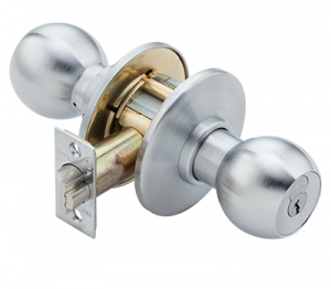 commercial door knob and lock