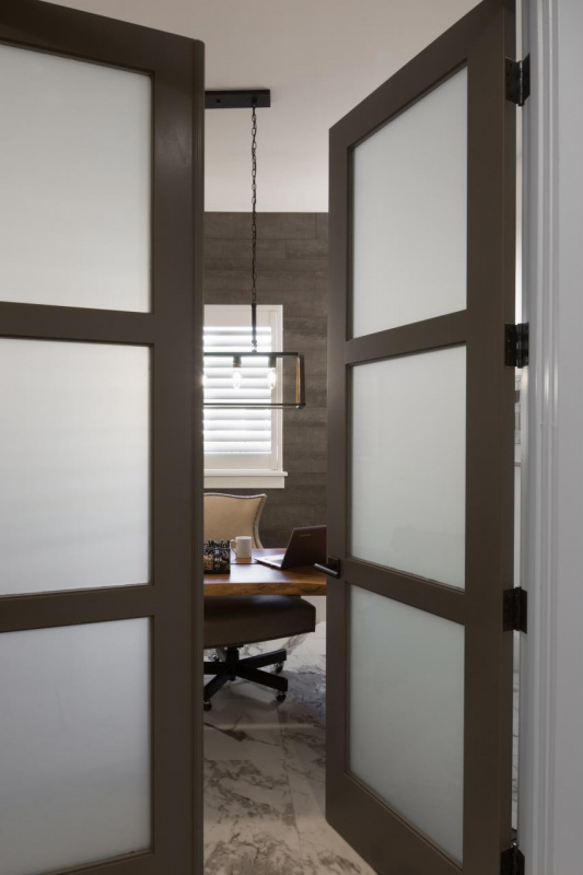 Door Swing Commercial Interior