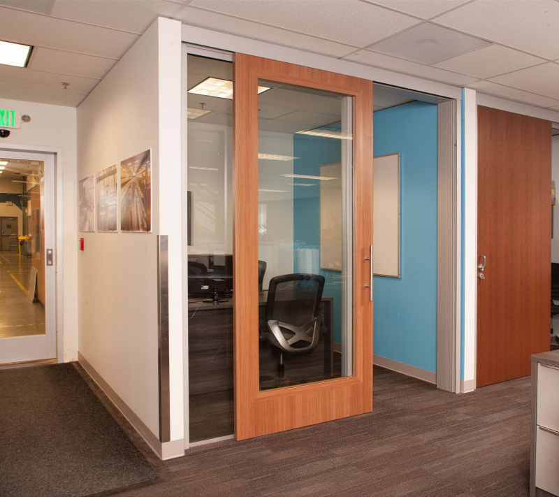 Sliding Doors Office Glass